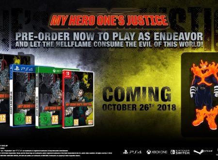 My Hero One's Justice: il titolo è in arrivo il 26 ottobre sui Nintendo Switch europei