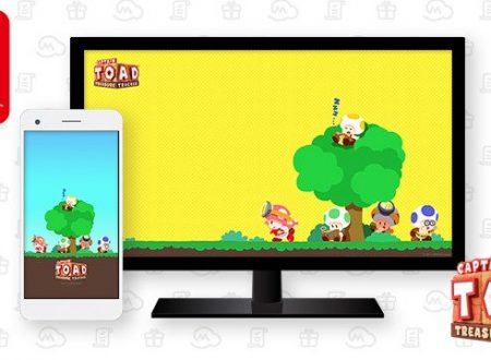My Nintendo: nuovo sfondo per Captain Toad: Treasure Tracker, sconti per Zelda: Oracle of Ages e Seasons