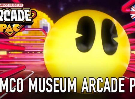 NAMCO MUSEUM ARCADE PAC: il titolo è in arrivo il 28 settembre sui Nintendo Switch europei