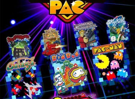 NAMCO MUSEUM ARCADE PAC: mostrata la boxart europea del titolo per Nintendo Switch