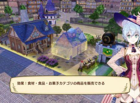 Nelke and the Legendary Alchemists: Atelier of a New Land, nuove informazioni e screenshots in merito alla costruzione della città