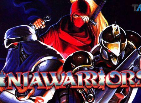 Ninja Warriors Again: il titolo annunciato è in arrivo su Nintendo Switch nel 2019