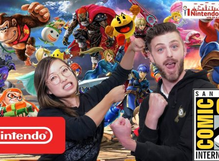 Nintendo Minute: Super Smash Bros. Ultimate al San Diego Comic-Con con Kit e Krysta