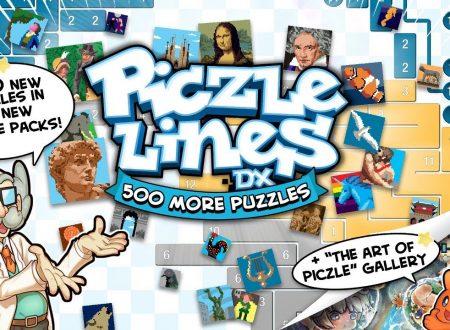 Piczle Lines DX 500 More Puzzles, il titolo è in arrivo il 26 luglio su Nintendo Switch