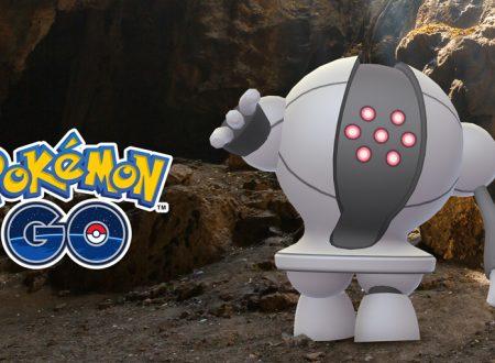 Pokèmon GO: Registeel è ora disponibile nelle Lotte Raid del titolo mobile