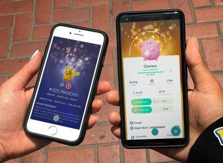 Pokèmon GO: i Pokèmon fortunati sono ora disponibili nel titolo mobile