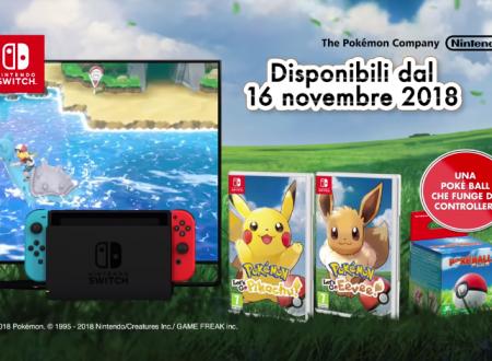 """Pokemon Let's Go! Pikachu e Eevee: pubblicato il trailer """"Esplora il mondo"""""""