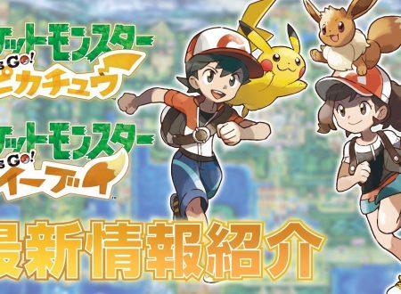 Pokemon Let's Go! Pikachu e Eevee: pubblicato un nuovo trailer dedicato ai due nuovi capitoli