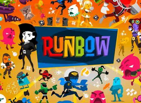 Runbow: il titolo è in arrivo il 10 agosto in formato retail sui Nintendo Switch europei