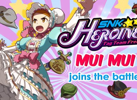 SNK HEROINES Tag Team Frenzy: Mui Mui sarà ufficialmente presente nel roster del gioco