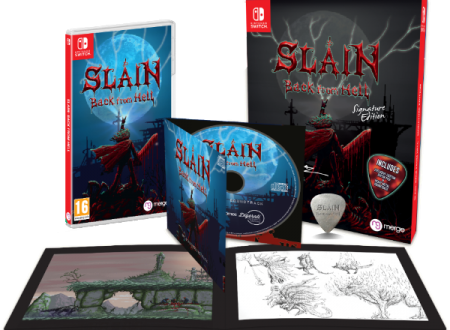Slain: Back from Hell, il titolo è ora disponibile in formato retail sui Nintendo Switch europei