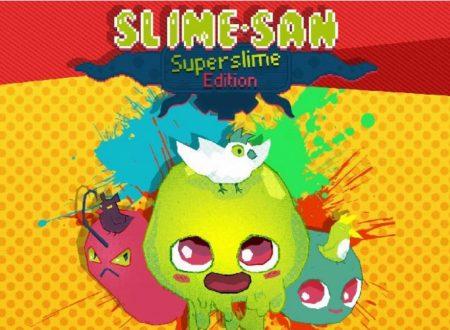 Slime-san: il titolo aggiornato alla versione 1.2 sui Nintendo Switch europei, aggiunta l'espansione Sheeple's Sequel