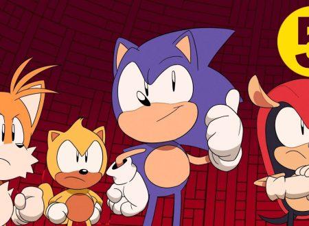 Sonic Mania Adventures: pubblicata la quinta parte della web serie animata di Sonic