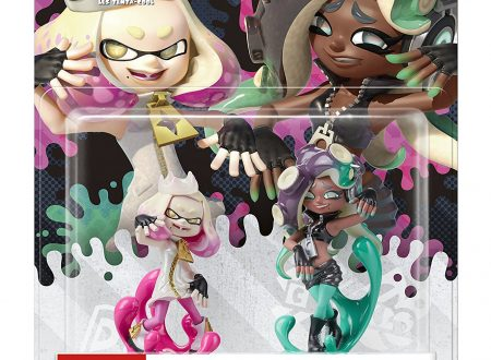 Splatoon 2: mostrato un video unboxing sugli amiibo di Alga e Nori