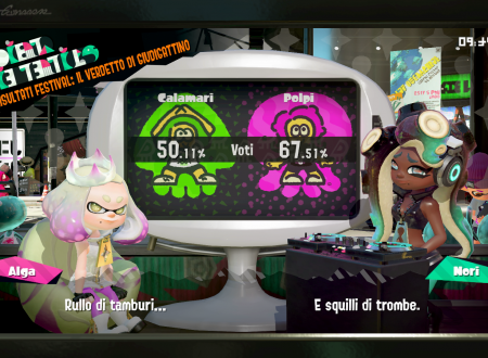 Splatoon 2: svelati i risultati dello Splatfest europeo e americano: Squid vs. Octopus