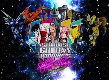 Stardust Galaxy Warriors: Stellar Climax, il titolo è ufficialmente in arrivo su Nintendo Switch