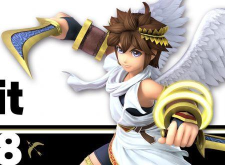 Super Smash Bros. Ultimate: filesize del titolo e novità del 13 luglio, Pit, il giovane l'angelo