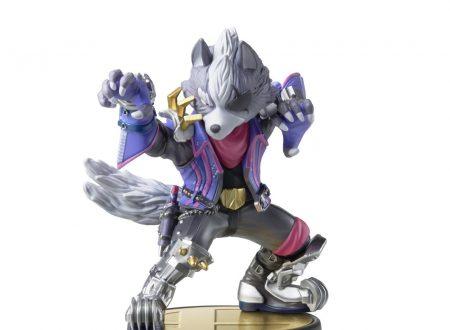 Super Smash Bros. Ultimate: mostrato l'amiibo di Wolf, ritorno nei negozi per la vecchia linea di amiibo di Smash Bros