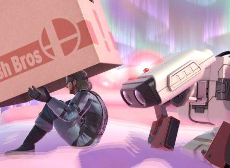 Super Smash Bros. Ultimate: novità del 18 luglio, pubblicato il brano: Snake Eater, da Metal Gear Solid 3