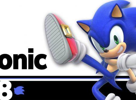 Super Smash Bros. Ultimate: novità del 2 luglio, Sonic the Hedgehog sfreccia di nuovo in battaglia