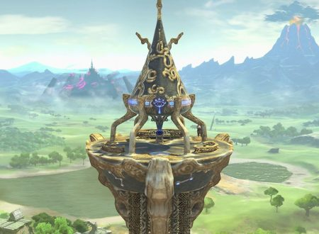 Super Smash Bros. Ultimate: novità del 24 luglio, la Torre delle origini di The Legend of Zelda: Breath of the Wild