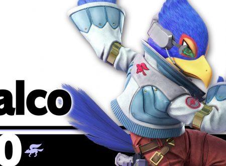 Super Smash Bros. Ultimate: novità del 3 luglio, Falco Lombardi e la sua formazione Arwing