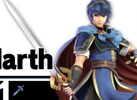 Super Smash Bros. Ultimate: novità del 9 luglio, Marth, il leggendario spadaccino di Altea