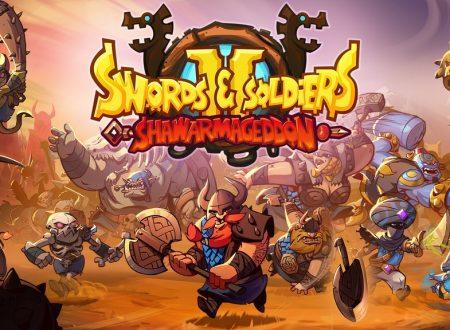 Swords & Soldiers II Shawarmageddon: il titolo è ufficialmente in arrivo su Nintendo Switch