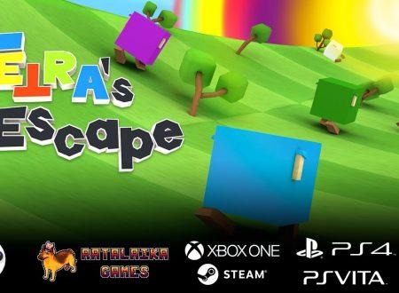 TETRA's Escape: il titolo è in arrivo nel mese di agosto su Nintendo Switch