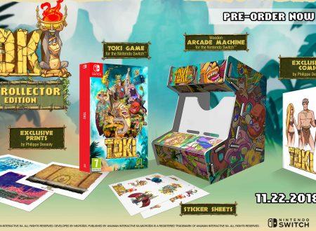 TOKI: il remake del noto arcade game il 22 novembre sui Nintendo Switch europei