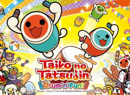 Taiko no Tatsujin: Drum 'n' Fun!: confermata l'uscita in formato retail sui Nintendo Switch europei, svelata l'intera tracklist