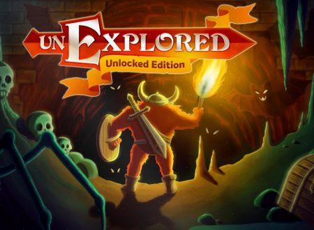 Unexplored: Unlocked Edition, il titolo è in arrivo il 9 agosto sull'eShop di Nintendo Switch