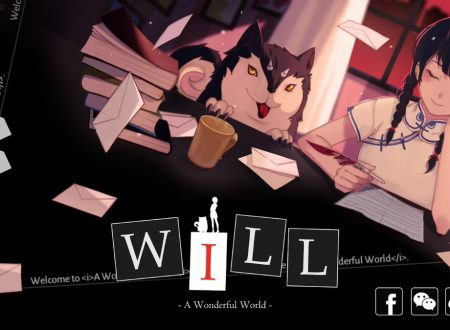 WILL: A Wonderful World, il titolo è ufficialmente in arrivo su Nintendo Switch
