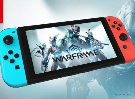 Warframe: il titolo è in arrivo il 20 novembre sui Nintendo Switch europei