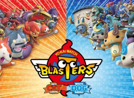 Yo-kai Watch Blasters: Cricca dei gatti rossi e Banda dei cani pallidi, pubblicati 8 minuti di gameplay sui titoli