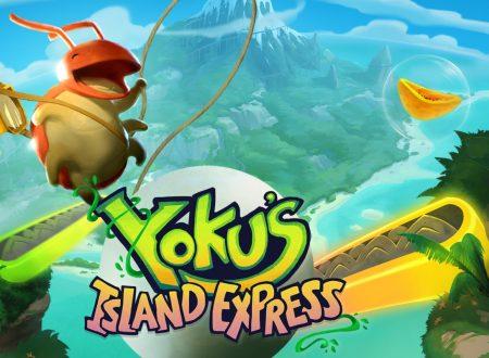 Yoku's Island Express: pubblicato il secondo update, ora disponibile su Nintendo Switch