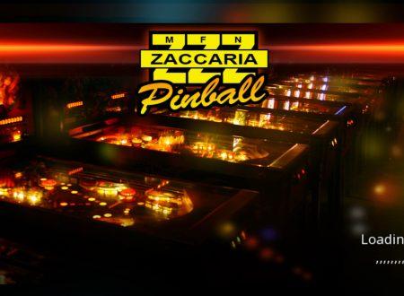Zaccaria Pinball: uno sguardo in video al titolo dai Nintendo Switch europei