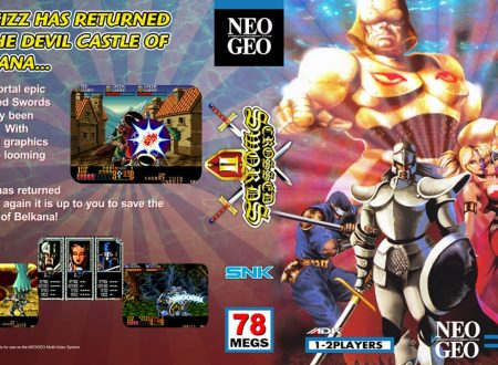 ACA NEOGEO Crossed Swords, il titolo in arrivo il prossimo 23 agosto sull'eShop europeo di Nintendo Switch