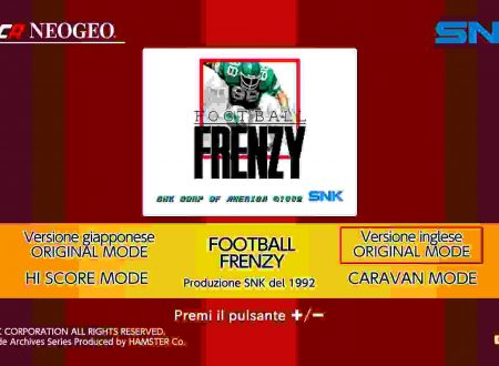 ACA NEOGEO Football Frenzy, uno sguardo in video al titolo dall'eShop europeo di Nintendo Switch