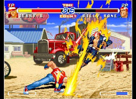 ACA NEOGEO Real Bout Fatal Fury 2, il titolo in arrivo il prossimo 16 agosto sull'eShop europeo di Nintendo Switch