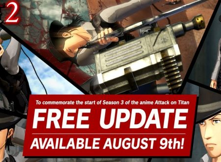Attack on Titan 2: Future Coordinates, uno sguardo in video a Kenny Ackerman