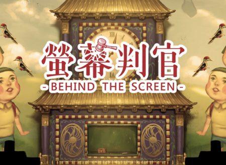 Behind the Screen: uno sguardo in video al titolo dai Nintendo Switch europei