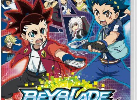 Beyblade Burst: Battle Zero, mostrata la boxart giapponese del titolo su Nintendo Switch