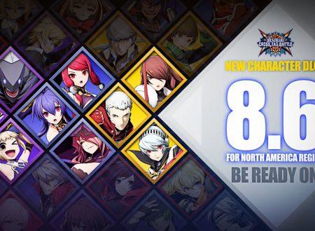 BlazBlue: Cross Tag Battle, svelate le nuove ondate di personaggi DLC del titolo