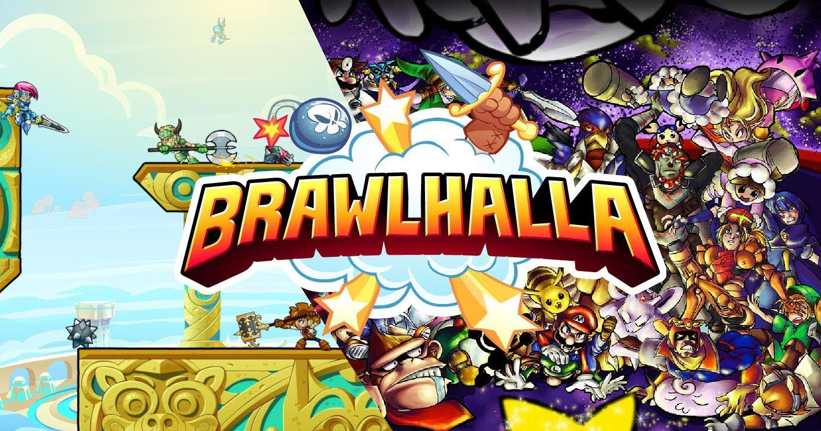 Brawlhalla Il Titolo E In Arrivo Il 6 Novembre Sull Eshop Di Nintendo Switch