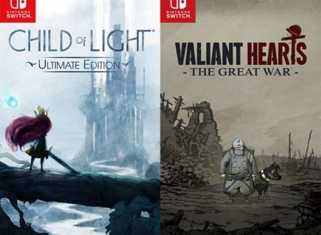 Child of Light e Valiant Hearts, i due titoli di Ubisoft sono in arrivo presto su Nintendo Switch