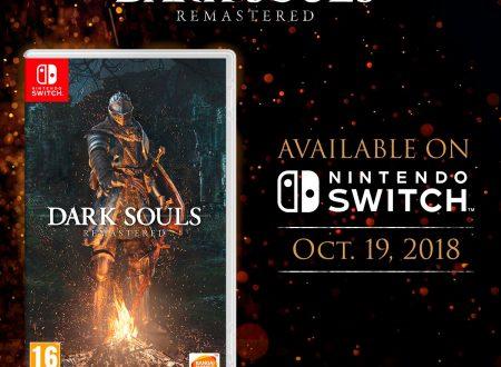 DARK SOULS: Remastered, il titolo è in arrivo con amiibo di Solaire dal 19 ottobre sui Nintendo Switch europei