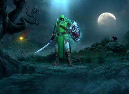 Diablo III: Eternal Collection, anche il costume di Link, la Spada Suprema e lo Scudo Hylia, saranno presenti nel titolo