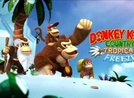 Donkey Kong Country: Tropical Freeze, il titolo aggiornato alla versione 1.0.2 sui Nintendo Switch europei