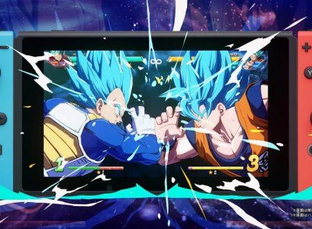 Dragon Ball FighterZ: pubblicato un nuovo trailer giapponese sulla versione Nintendo Switch